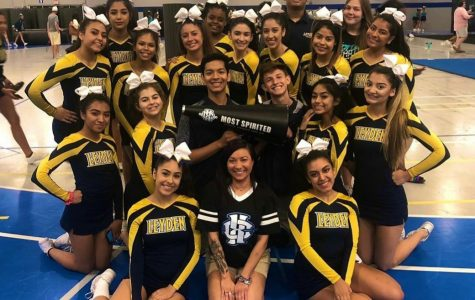 Varsity Cheer Makes Leyden History by Going Coed for Competition