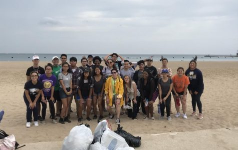West Leyden Ecology Cleans The Beach Homecoming Morning